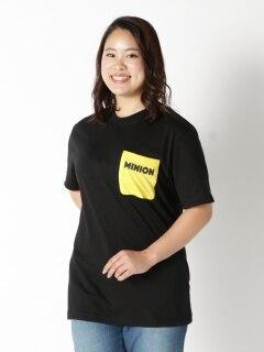 バナナの歌を歌いたくなる!ミニオンズバックプリントTシャツ