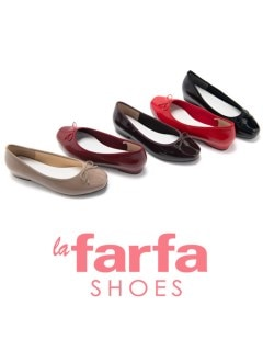 la farfa SHOES 2cmヒール バレエシューズ S/T81